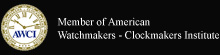 Member of American Watchmakers - Clockmakers Institute